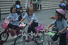 Mia's Bike-a-thon : Mia's international school had a bike-a-thon charity event.